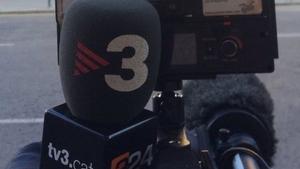 Periodistes de TV3 s'haurien vist increpats durant la manifestació unionista d'avui