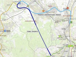 Projecte del túnel d'Horta