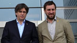 Puigdemont i Comín han presentat un escrit reclamant una resposta del Suprem a una demanda contra la JEC