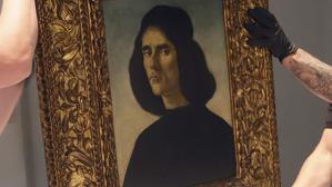 Quadre 'Retrat de Michele Marullo Tarcaniota' de Sandro Botticelli