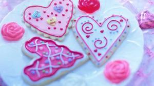 Regala a mamá unas deliciosas galletas con fondant hechas por ti.