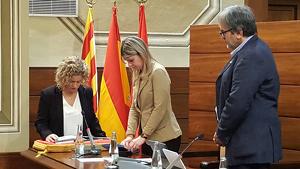 Roigé, l'alcaldessa de Tortosa, ja és nova diputada a la institució