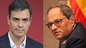 Sánchez vs Torra