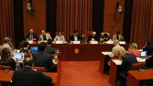 Sanchis i Llorach a la Comissió de Control al Parlament