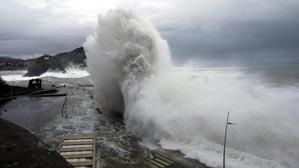 Se producirá un violento temporal marítimo en las costas atlánticas esta tarde de miércoles y el jueves
