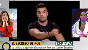 Según Liz Emiliano, Pol tiene novia en Barcelona