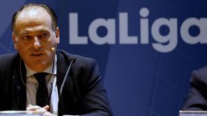 Tebas crítica les paraules de Piqué en comparar el seu patrimoni amb el pressupost de l'Espanyol
