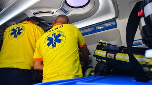 Tècnics del SEM actuen in situ en un avís d'emergències a Vila-seca
