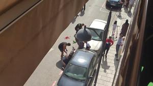 Tres persones han resultat ferides per apunyalament a Canovelles