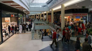 Un centre comercial en València