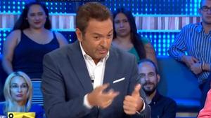 Un dels moments de tensió entre Albert Castillón i Justo Molinero