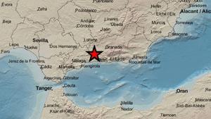 Un terremoto de magnitud 3,0 sacude Granada esta madrugada