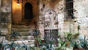 Una imatge de l'interior del Castell d'Altafulla, visitable des d'aquest dissabte.