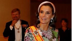 Vestit floral de la reina Letícia