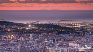Vistes de Mallorca des de l'Observatori Fabra de Barcelona