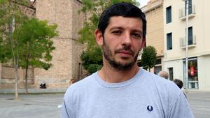 Xavier Pellicer, portaveu d'Alerta Solidària i de les defenses dels CDRs detinguts el 23-S.