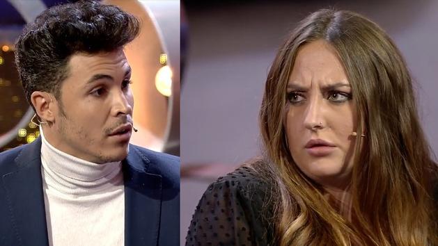 Gran tensión entre Kiko Jiménez y Rocío Flores