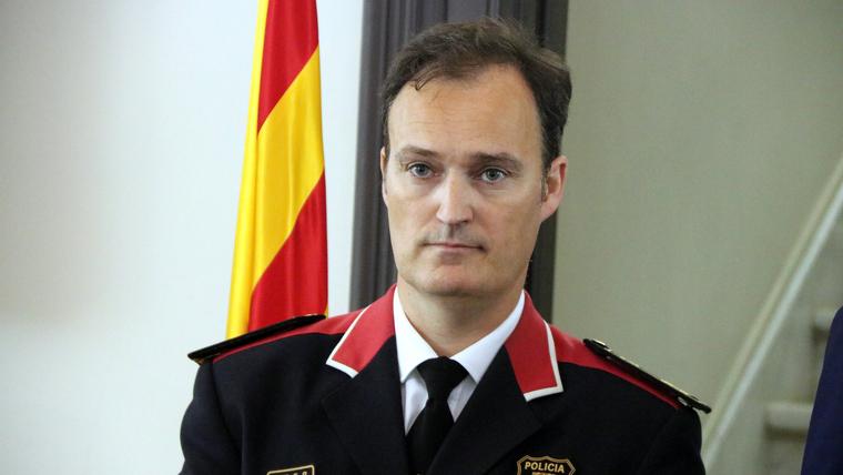 Eduard Sallent substitueix a Miquel Esquius com a cap dels Mossos d'Esquadra