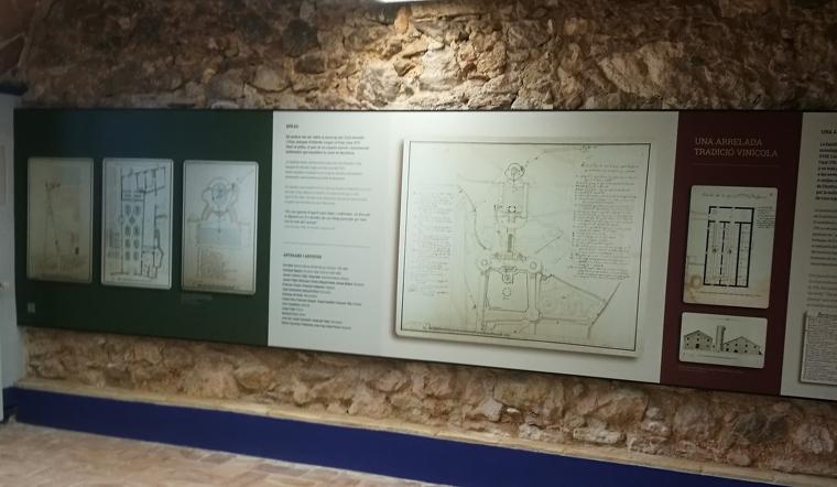 El centre d'interpretació històrica de Finca Viladellops