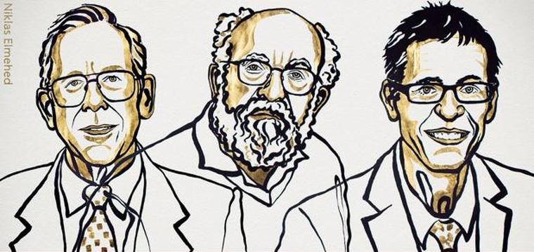 Els guanyadors del Premi Nobel de Física 2019