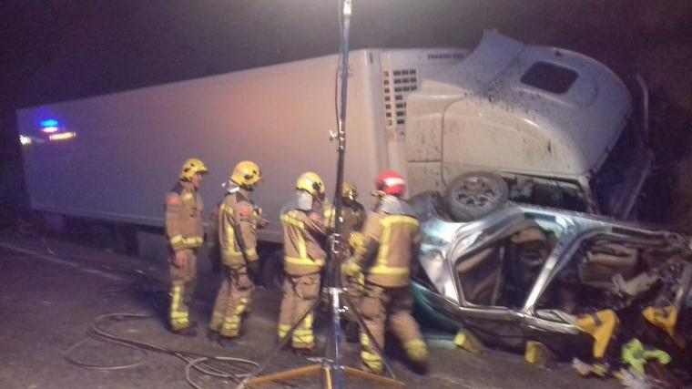 Imatge de l'accident, a la carretera C-12