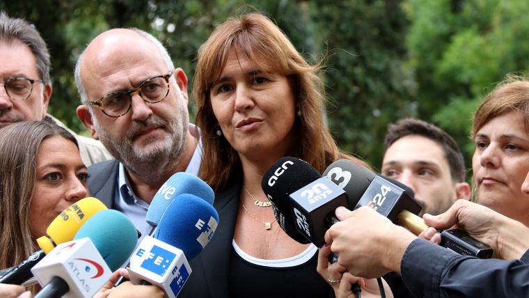 Laura Borràs ha confirmat que les llistes de JxCat per al 9-N les encapçalaran els presos