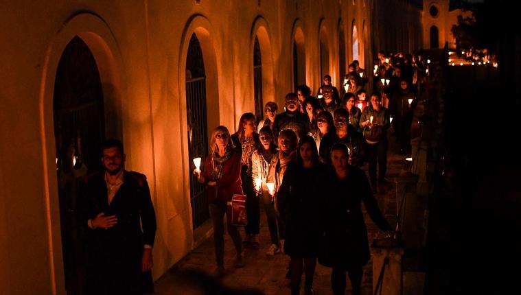 Les visites teatralitzades del Cementiri de Reus en imatges