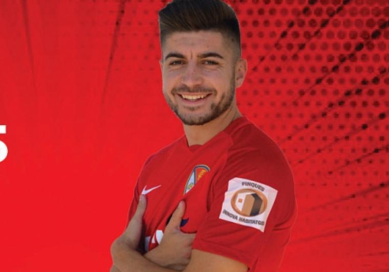 Lucas Viña, nou jugador del Terrassa FC
