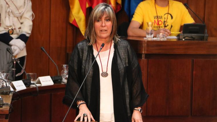 Núria Marín, presidenta de la Diputació de Barcelona