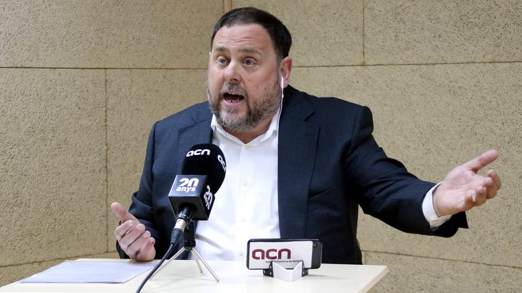 Oriol Junqueras s'ha compromès a no facilitar un govern d'extrema dreta de cap manera