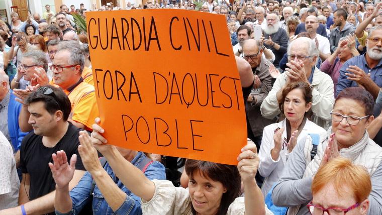 Protesta guardia civil