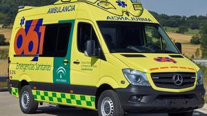 Ambulancia del servicio médico de Andalucía