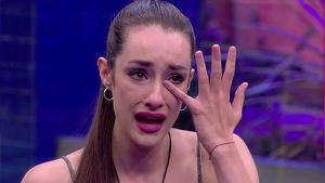 Adara plora durant una gala de 'Gran Hermano VIP'