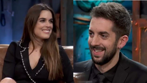 Adriana Ugarte y David Broncano