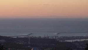Així es veia Mallorca aquest matí des de Collserola