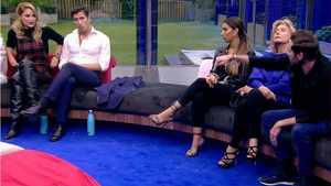 Alba Carrillo y Anotnio David, discuten en Gran Hermano