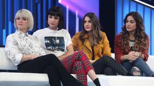 Alba Reche i Natalia Lacunza van ser grans amigues durant el concurs