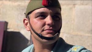 Alejando, el joven caballero legionario que perdió la vida en el Campo de Maniobras de Agost