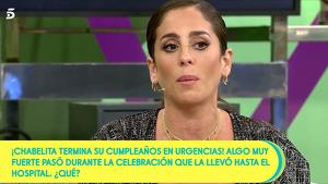 Anabel Pantoja no fue a la fiesta de Chabelita
