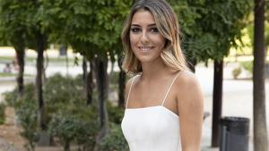 Anna Ferrer el día de su graduación