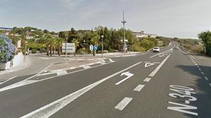 Aquest es el punt on els veïns reclamen un semàfor a Cala Romana de Tarragona.