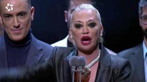 Belén Esteban recogió el Premio Iris por 'Sálvame'