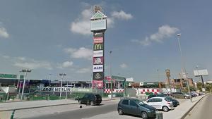 Centre comercial en el que es va produir la persecució