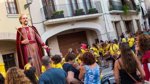 Cercavila i arrancada de la Festa Major de Vilallonga 2017