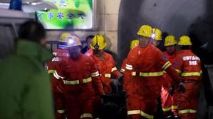 De los 35 trabajadores de la mina, 15 han perdido, de momento, la vida