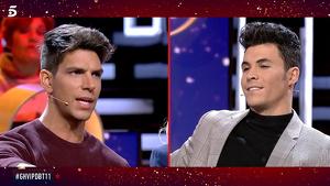 Diego Matamoros y Kiko Jiménez discutiendo en 'GH VIP 7'