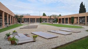 El cementiri municipal de Torredembarra s'ampliarà amb una nova illa central al segon jardí.