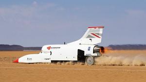 El coche supersónico más veloz del mundo puede alcanzar los 1.600 km/h