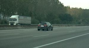 El cotxe multat va ser enxampat a l'AP-7