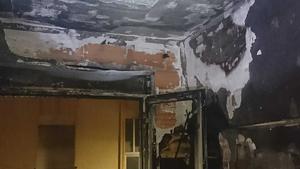 El foc ha afectat a tota la vivenda